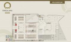 Omega Mall 4th Floor Plan