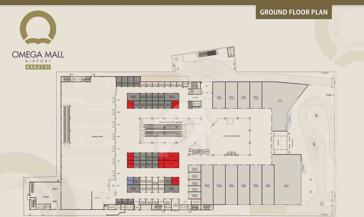 Omega Mall Ground Floor Payment Plan