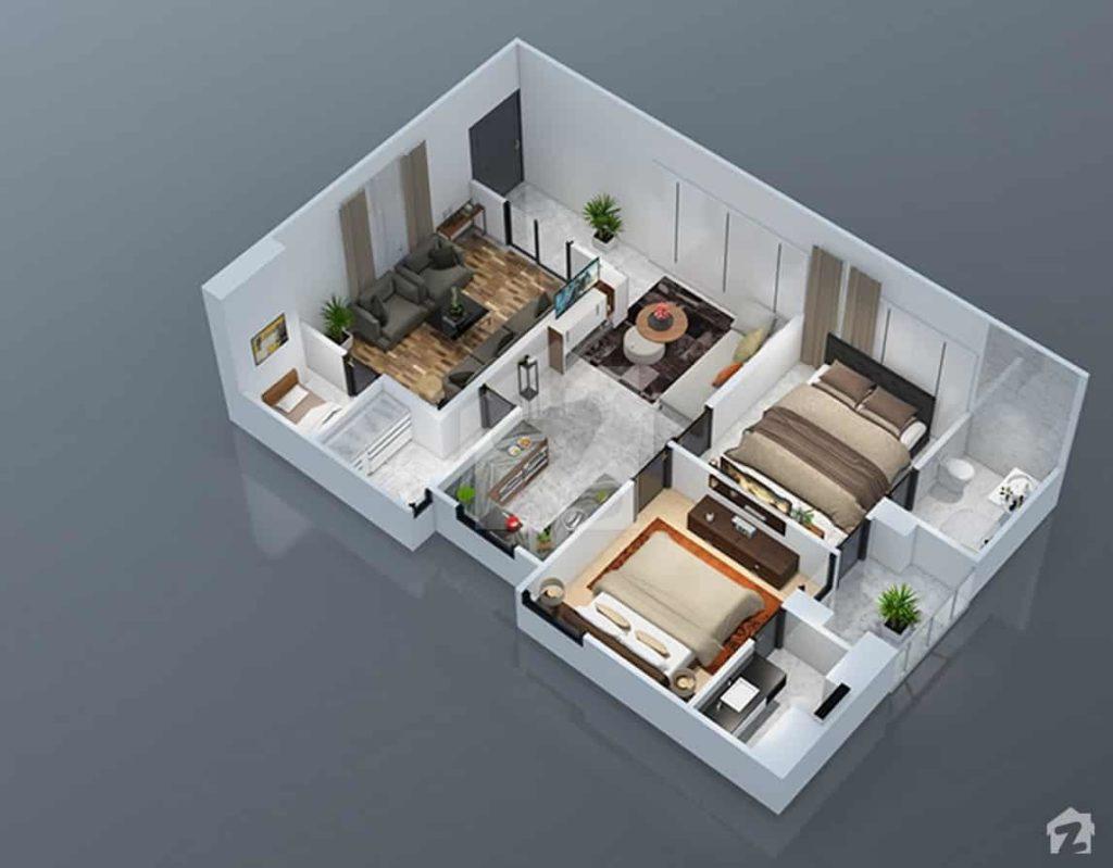 Park Vista 2 Bed Plan A