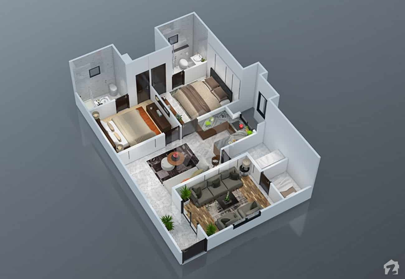 Park Vista 2 Bed Plan B
