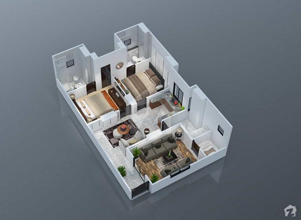 Park Vista 2 Bed Plan C
