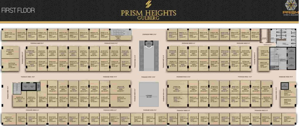Prism Heights 1st Floor Plan