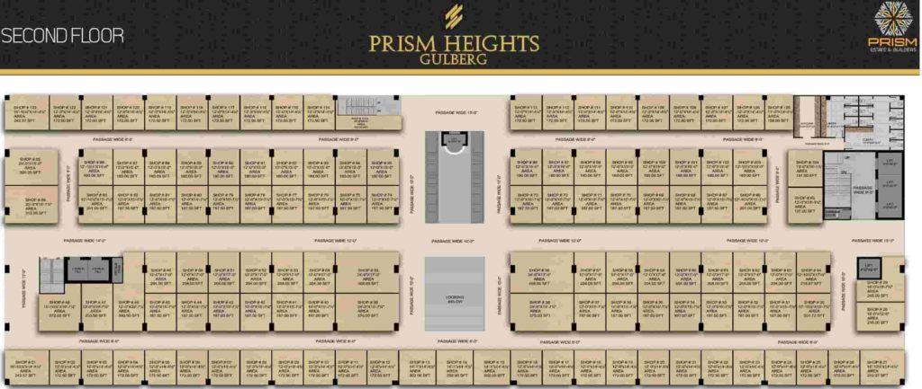 Prism Heights 2nd Floor Plan