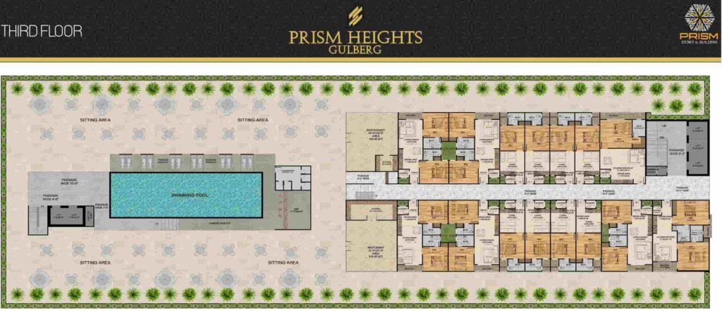 Prism Heights 3rd Floor Plan