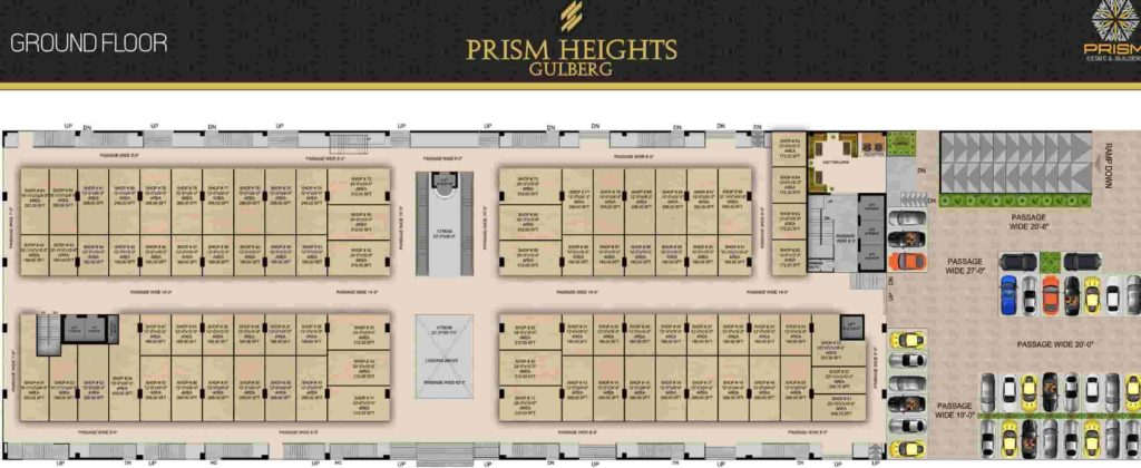 Prism Heights Ground Floor Plan