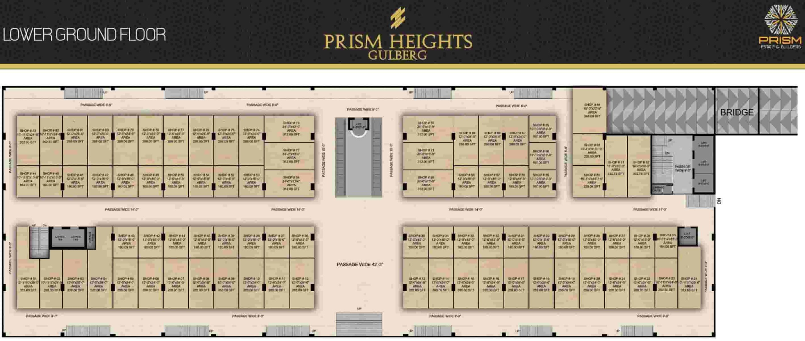Prism Heights Lower Ground Floor Plan