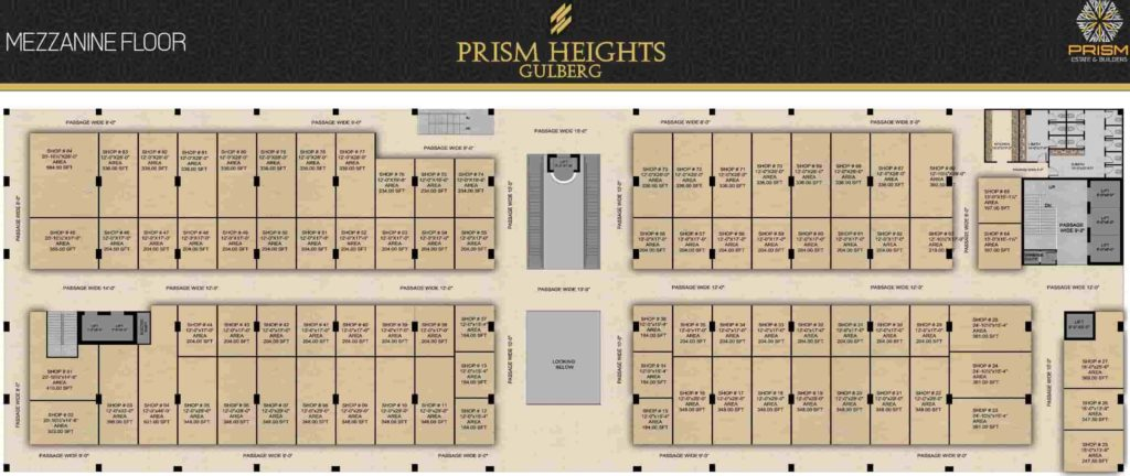 Prism Heights Mezzanine Floor Plan