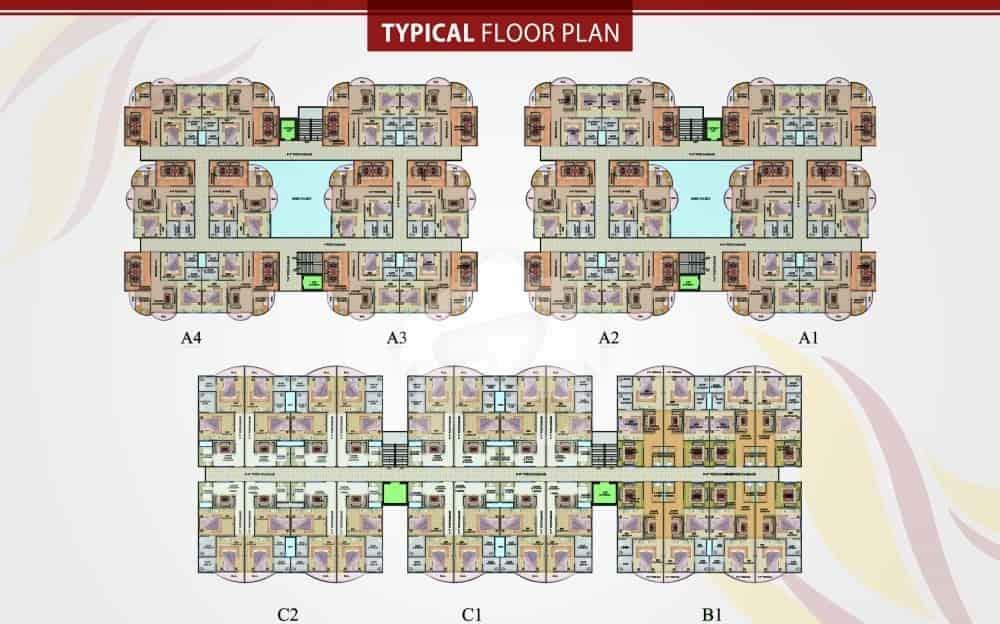 Rabia Enclave Floor Plan