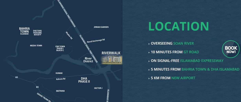 River Walk Location