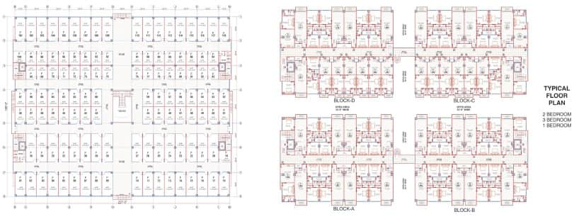 Swiss Garden Apartments Floor Plan