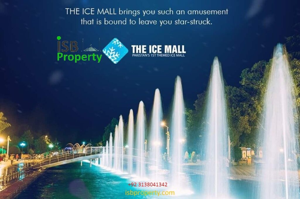 Ice Mall Dancing Fountains 01