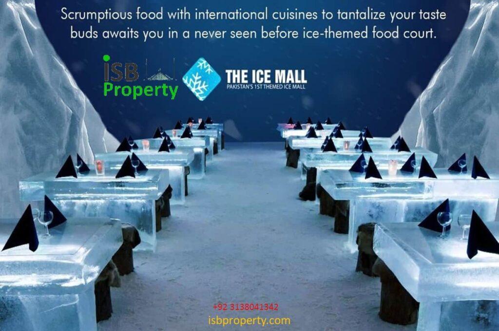 Ice Mall Food Court 01