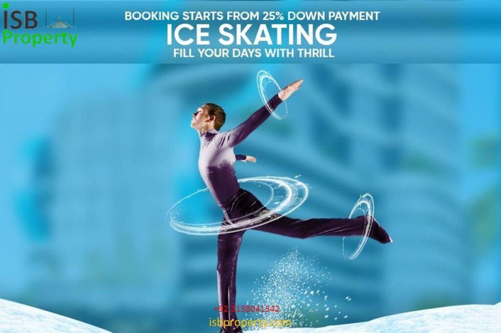 Ice Mall Ice Skating 03