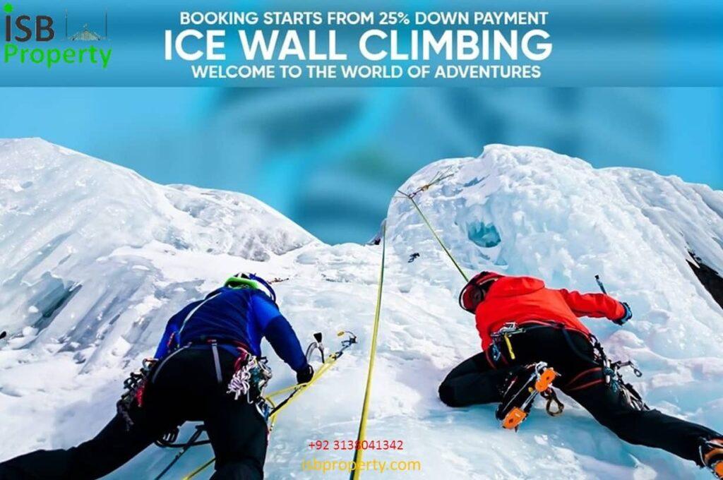 Ice Mall Ice Wall 01