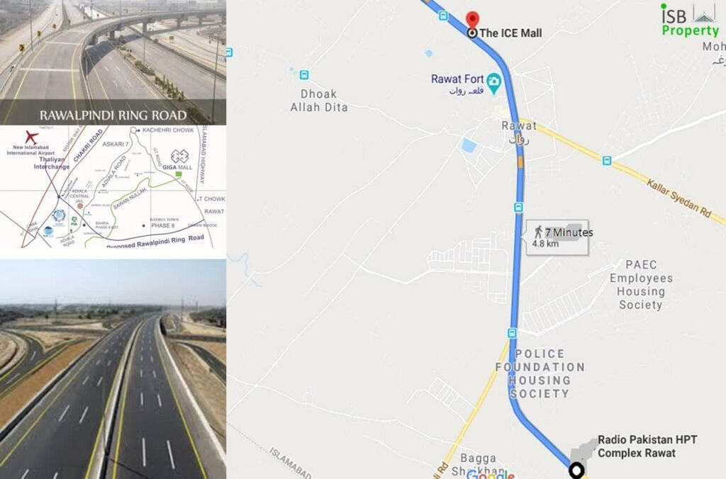 Ice Mall to Ring Road