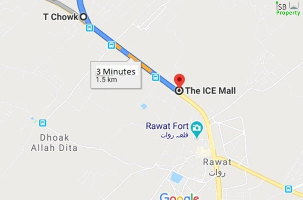 Ice Mall to T Chowck