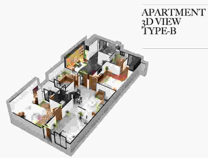 Zeta 1 Mall 2 Bed Apartment B