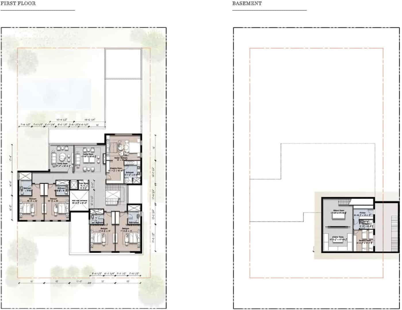 Eighteen 2 Kanal Villa Layout Plan B 2