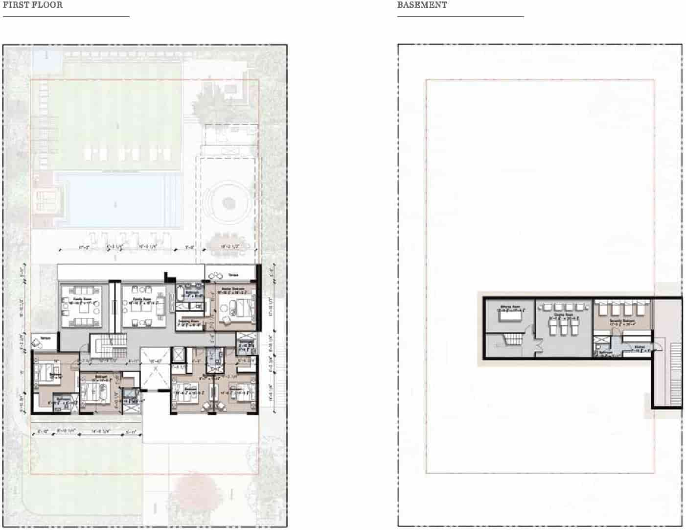 Eighteen 4 Kanal Villa Layout Plan A 2