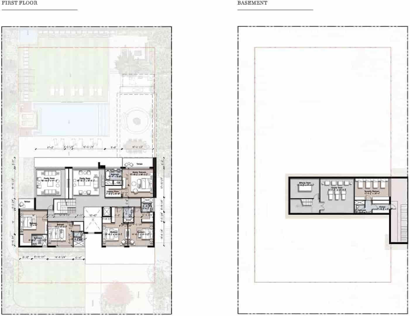 Eighteen 4 Kanal Villa Layout Plan A 2