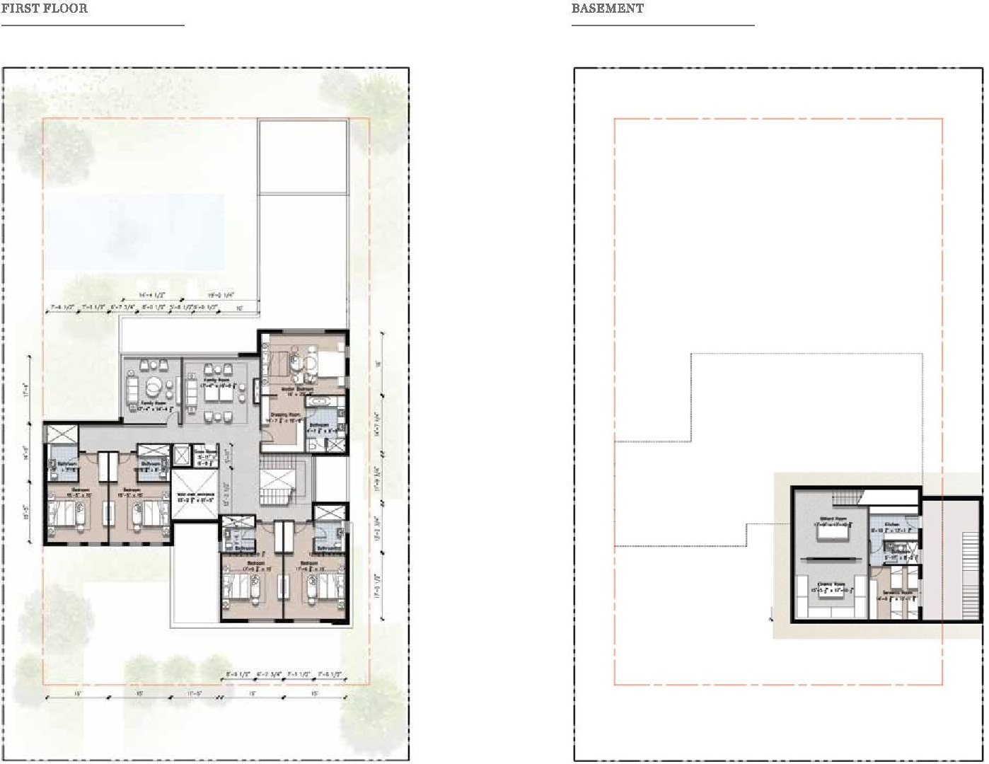Eighteen 4 Kanal Villa Layout Plan B 2