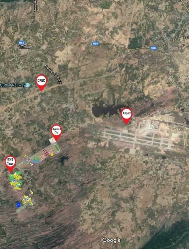 ICHS Google Map