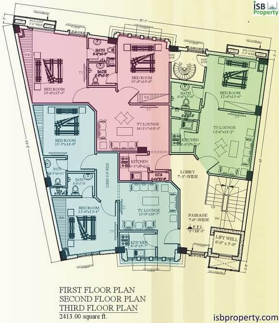 Rafi Arcade Residential Floor Plan