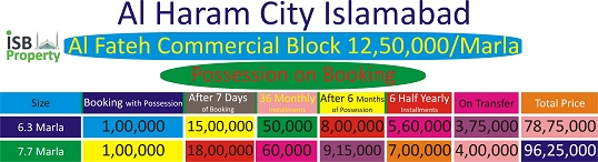Al Haram City Commercial Payment Plan