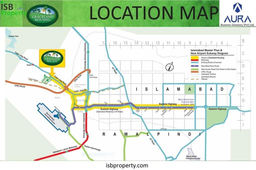 Graceland Location Map