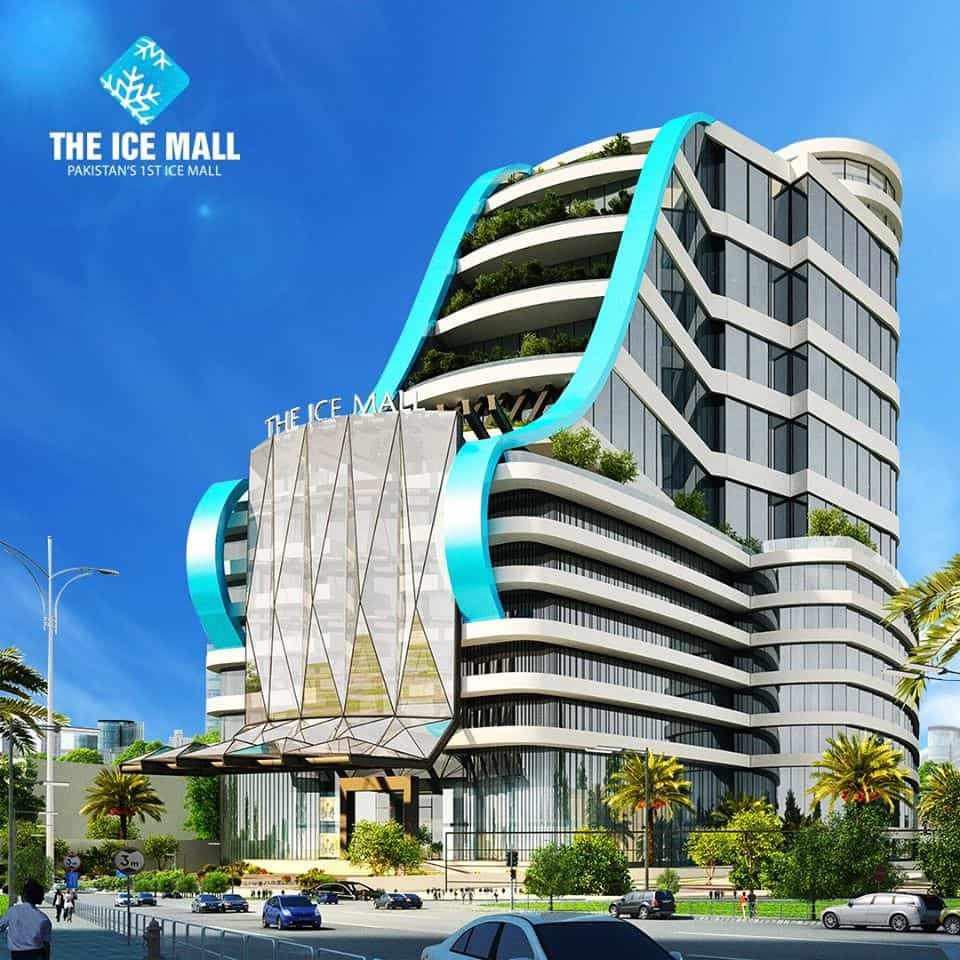 The Ice Mall Elevation 01-min