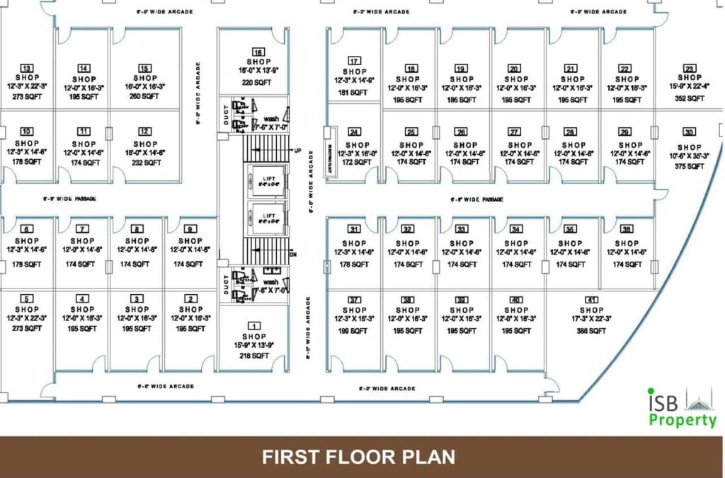 Opal Square 1st Floor Plan