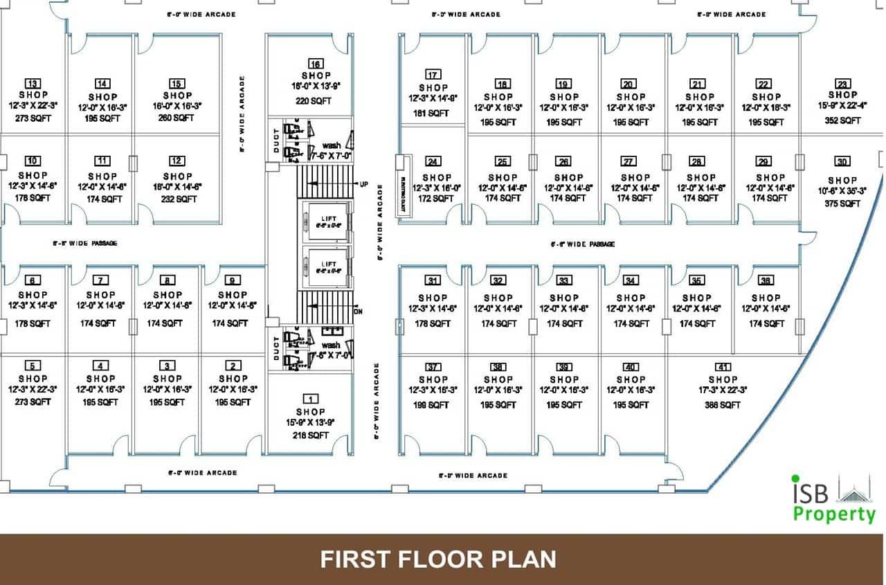 Opal Square 1st Floor Plan