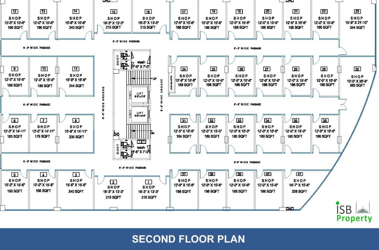 Opal Square 2nd Floor Plan