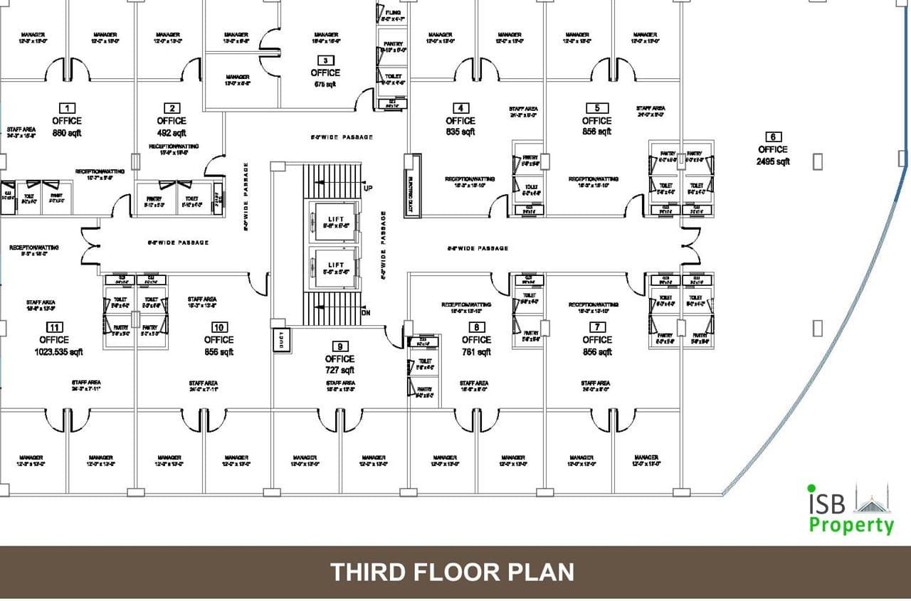 Opal Square 3rd Floor Plan