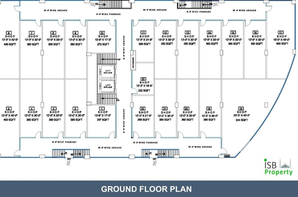 Opal Square Ground Floor Plan