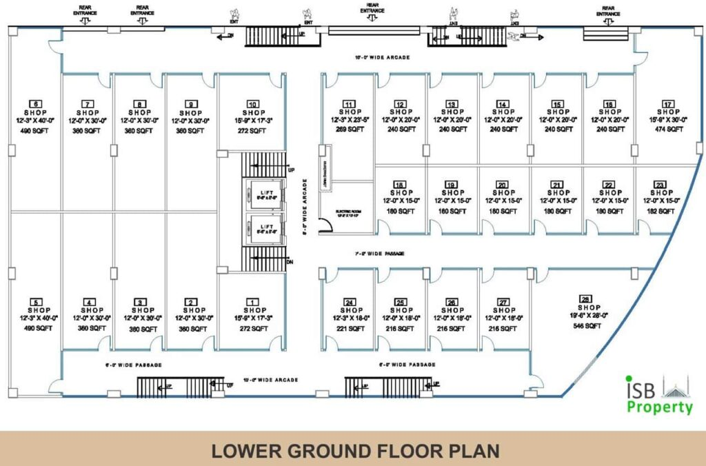 Opal Square Lower Ground Floor Plan