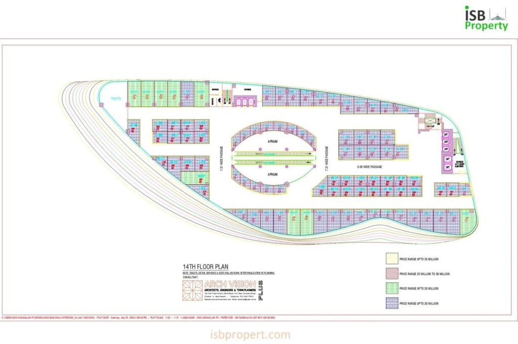 GIGA EXTENSION 14TH FLOOR LAY OUT