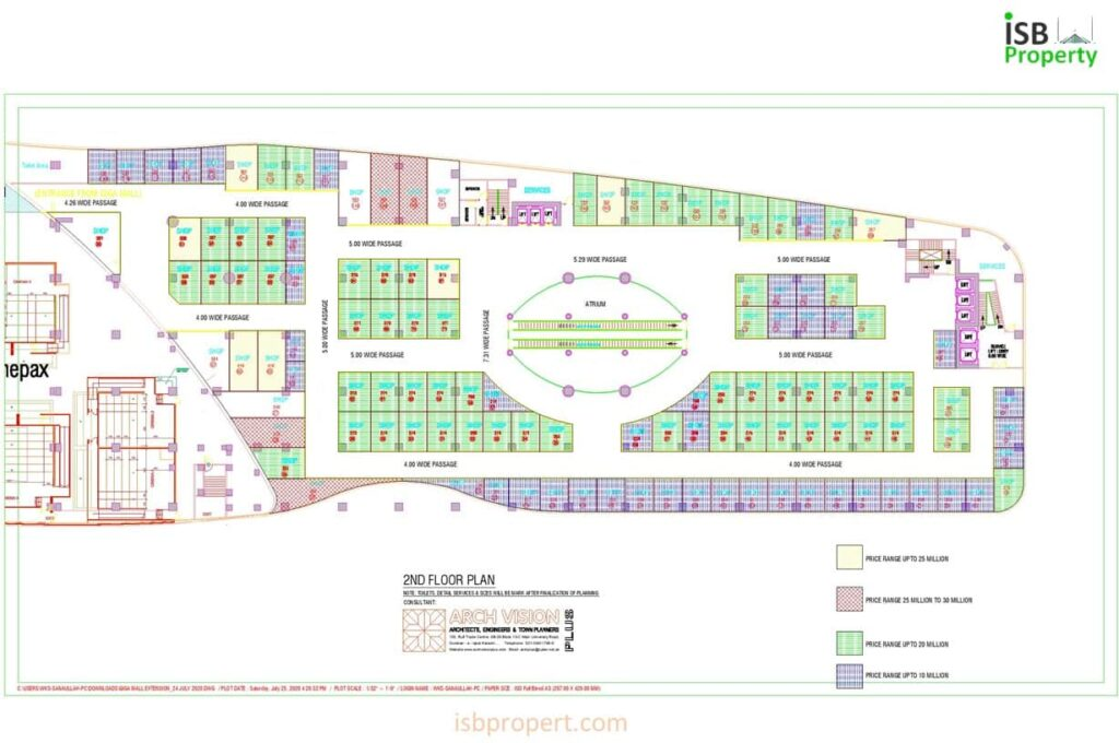GIGA EXTENSION 2ND FLOOR LAY OUT