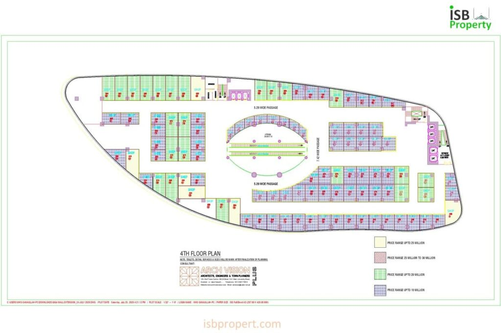 GIGA EXTENSION 4TH FLOOR LAY OUT