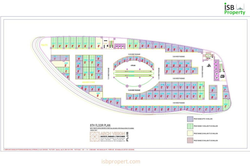 GIGA EXTENSION 8TH FLOOR LAY OUT