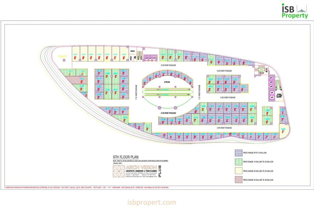GIGA EXTENSION 9TH FLOOR LAY OUT