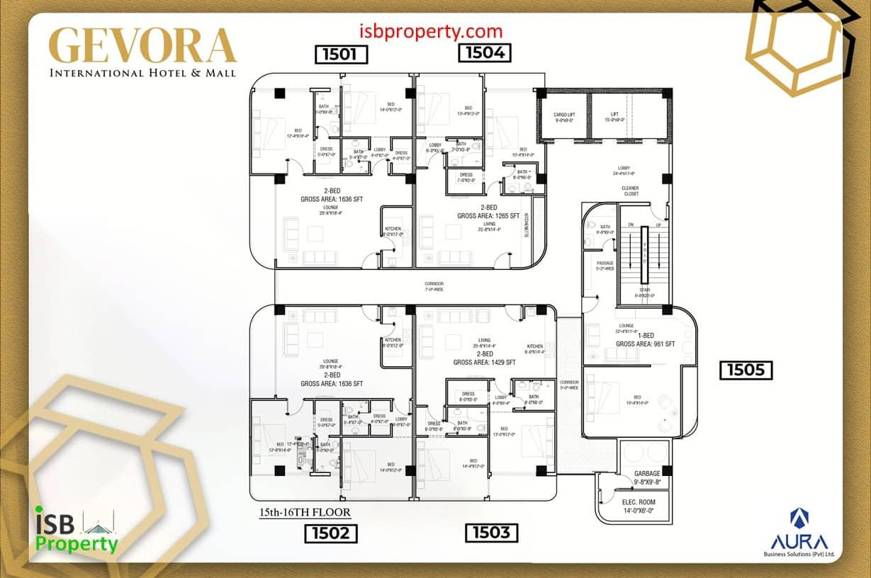 Gevora 15th Floor