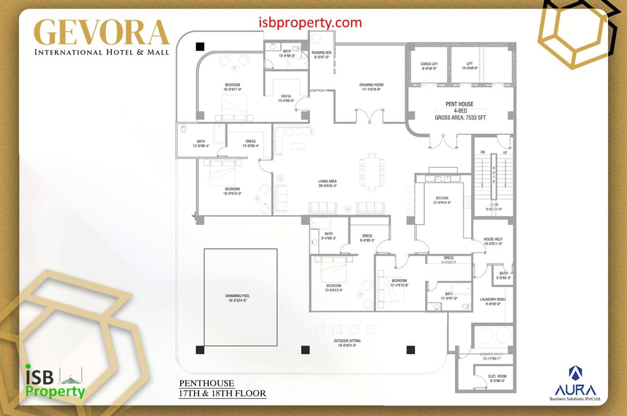 Gevora 17-18th Floor Penthouses