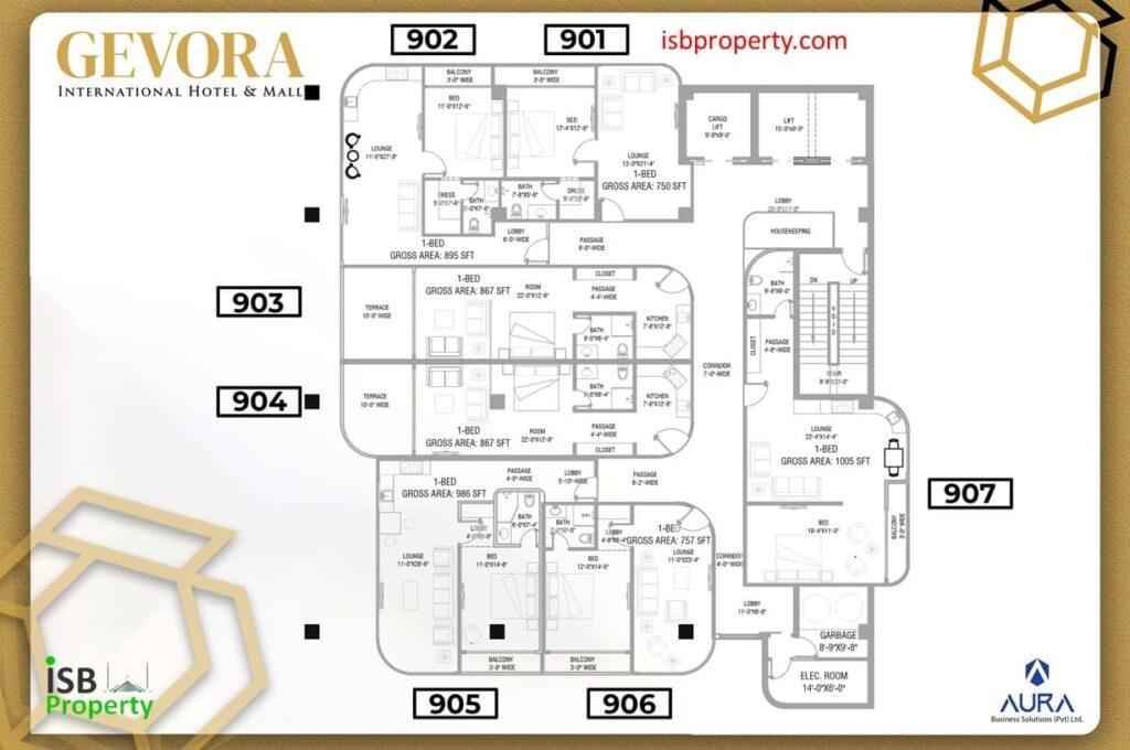 Gevora 9th Floor