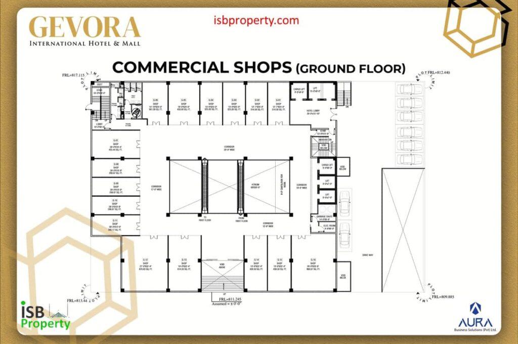 Gevora Ground Floor Plan