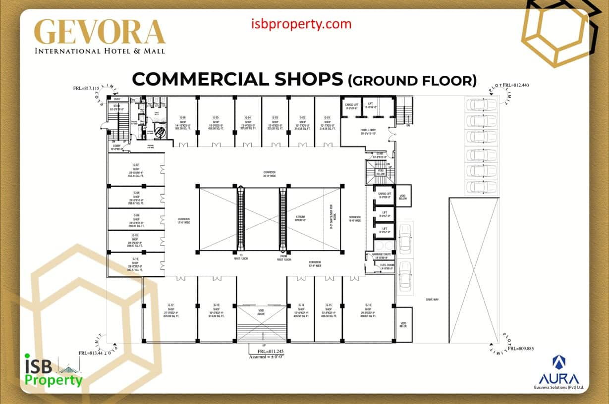 Gevora Ground Floor Plan