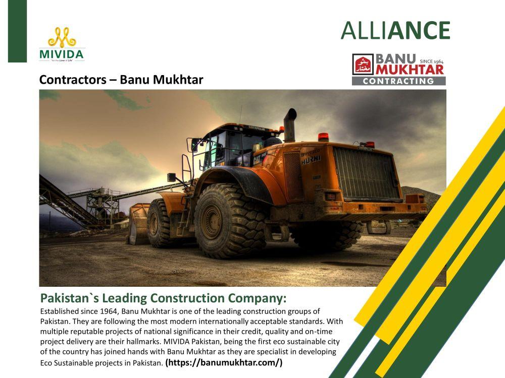 MIVIDA Pakistan Contractors Banu Mukhtar