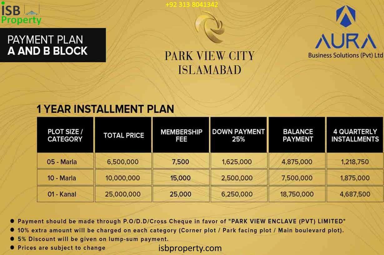Park View City A,B Block