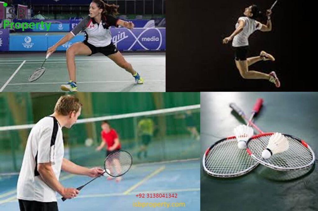 The Ice Mall Badminton