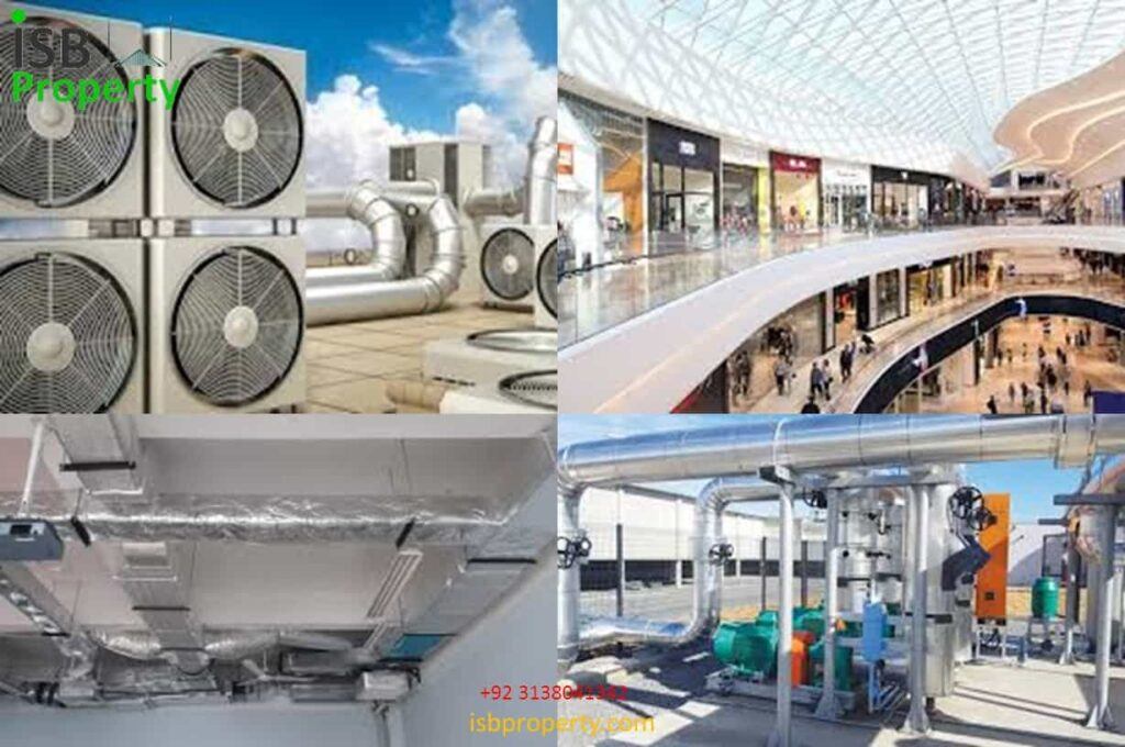 The Ice Mall Central AC System
